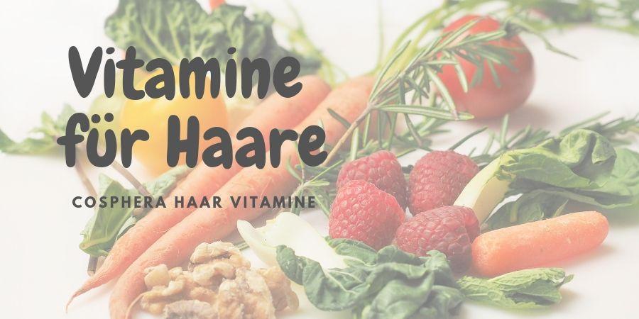 Haar Vitamine für das Haarwachstum