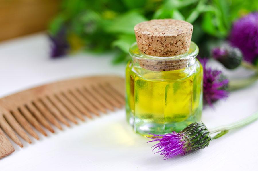 Haaröle zum Anregen des Haarwachstums
